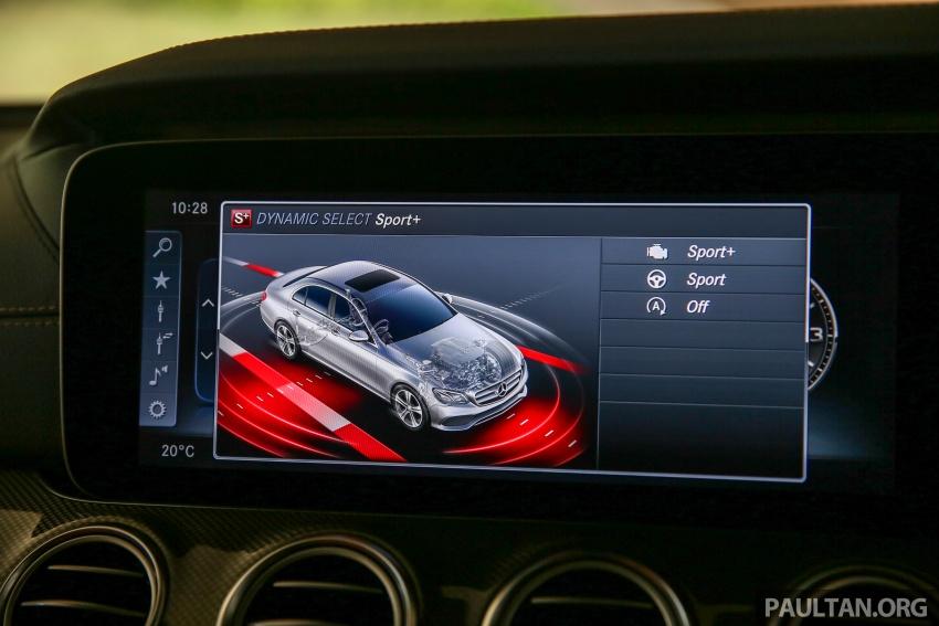 PANDU UJI: Mercedes-Benz W213 E 200 – penanda aras baharu segmen sedan mewah eksekutif Image #567089