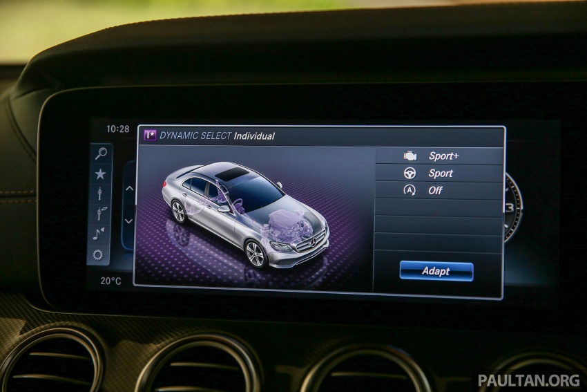 PANDU UJI: Mercedes-Benz W213 E 200 – penanda aras baharu segmen sedan mewah eksekutif Image #567088