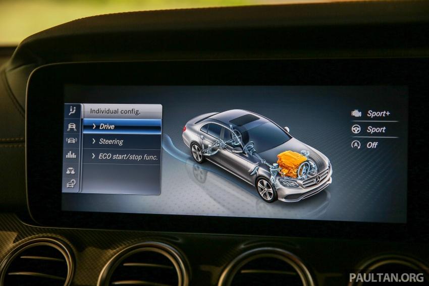 PANDU UJI: Mercedes-Benz W213 E 200 – penanda aras baharu segmen sedan mewah eksekutif Image #567087