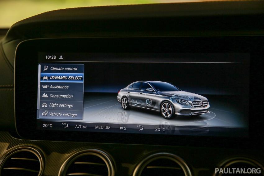 PANDU UJI: Mercedes-Benz W213 E 200 – penanda aras baharu segmen sedan mewah eksekutif Image #567086