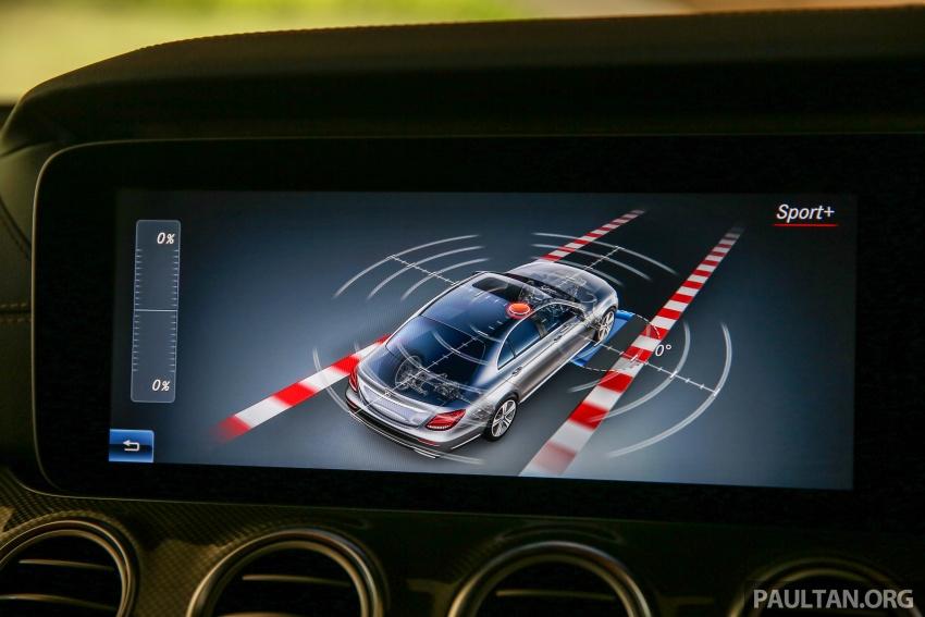 PANDU UJI: Mercedes-Benz W213 E 200 – penanda aras baharu segmen sedan mewah eksekutif Image #567084