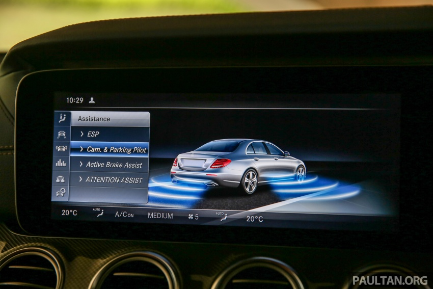 PANDU UJI: Mercedes-Benz W213 E 200 – penanda aras baharu segmen sedan mewah eksekutif Image #567082