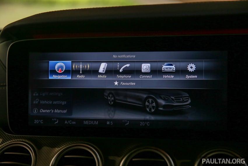 PANDU UJI: Mercedes-Benz W213 E 200 – penanda aras baharu segmen sedan mewah eksekutif Image #567079