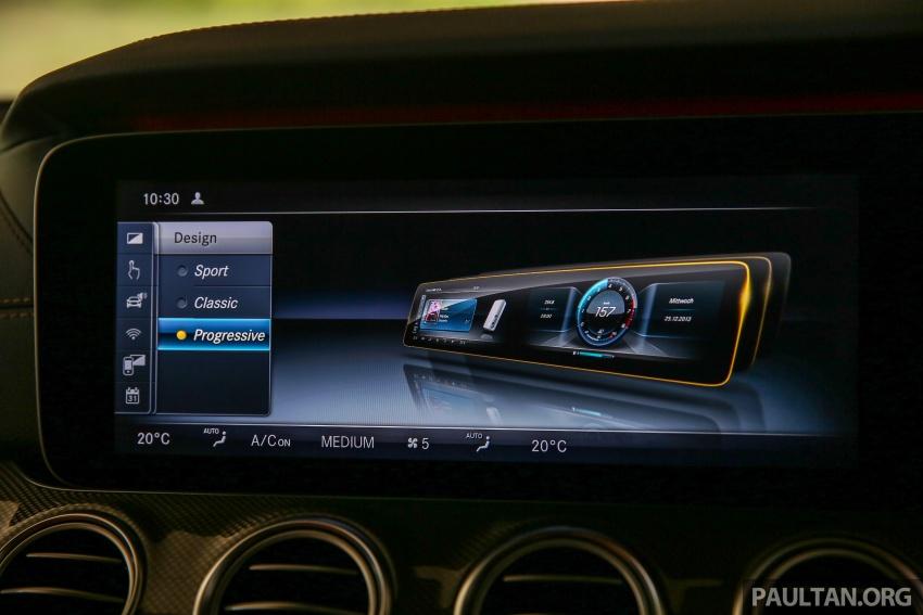 PANDU UJI: Mercedes-Benz W213 E 200 – penanda aras baharu segmen sedan mewah eksekutif Image #567074