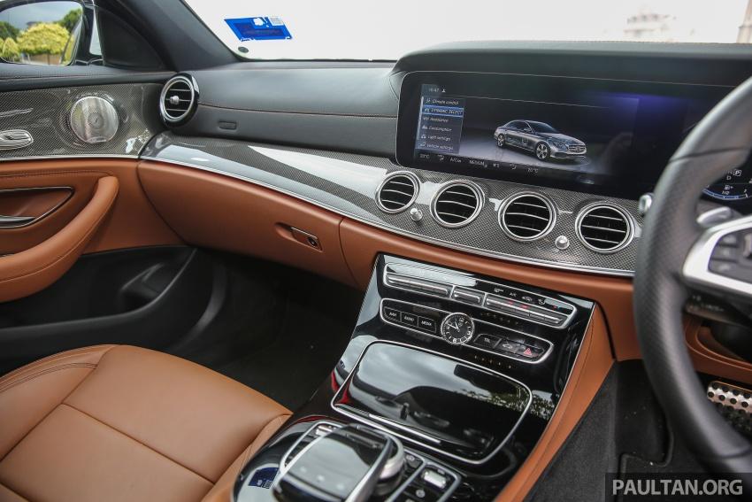 PANDU UJI: Mercedes-Benz W213 E 200 – penanda aras baharu segmen sedan mewah eksekutif Image #567062