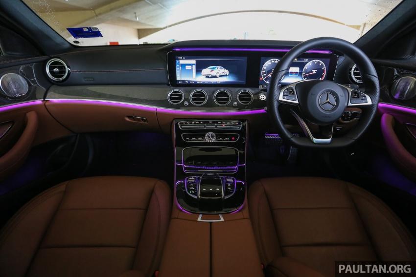 PANDU UJI: Mercedes-Benz W213 E 200 – penanda aras baharu segmen sedan mewah eksekutif Image #567020