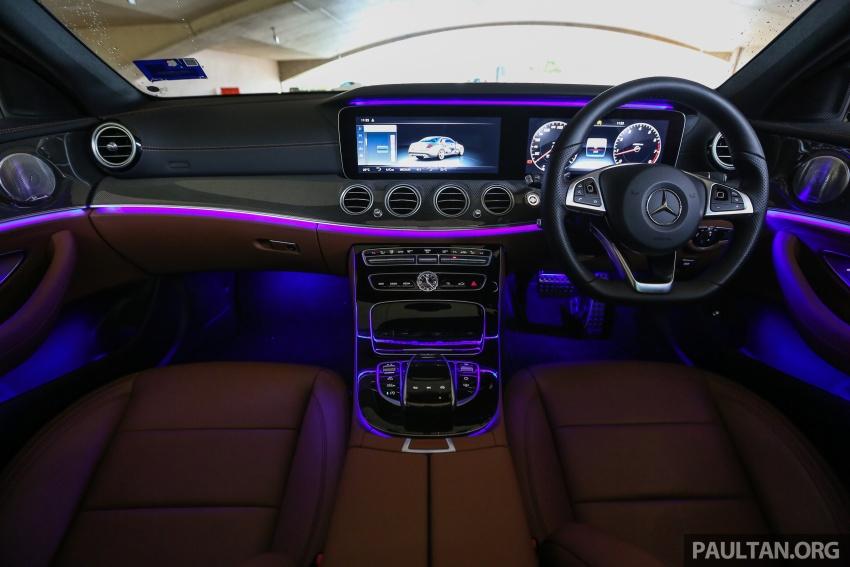 PANDU UJI: Mercedes-Benz W213 E 200 – penanda aras baharu segmen sedan mewah eksekutif Image #567018