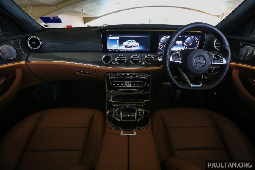 PANDU UJI: Mercedes-Benz W213 E 200 – penanda aras baharu segmen sedan mewah eksekutif Image #567016