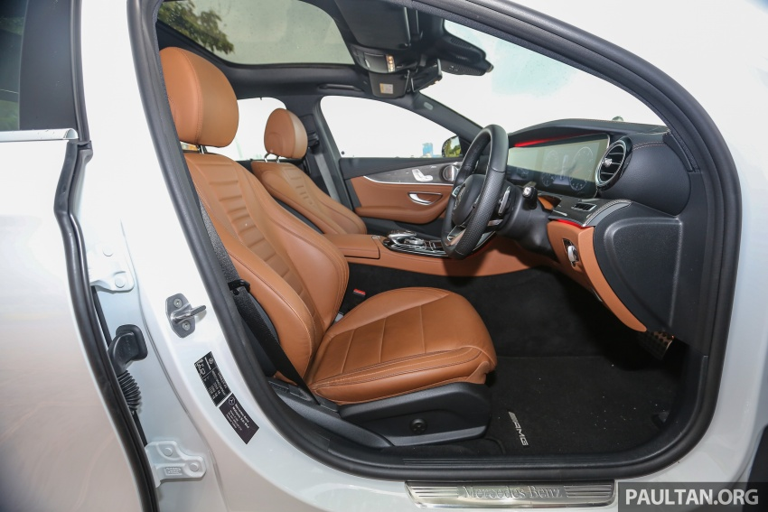 PANDU UJI: Mercedes-Benz W213 E 200 – penanda aras baharu segmen sedan mewah eksekutif Image #567015