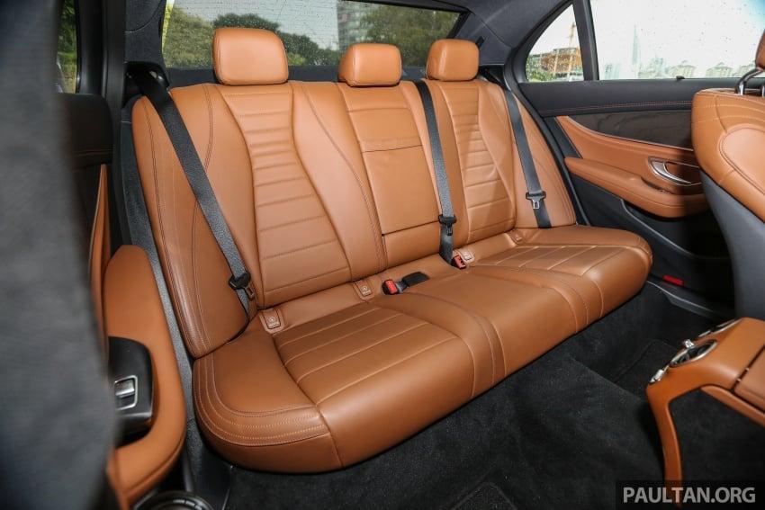 PANDU UJI: Mercedes-Benz W213 E 200 – penanda aras baharu segmen sedan mewah eksekutif Image #567011