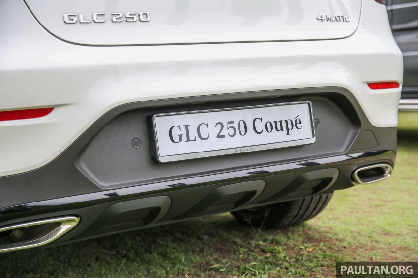Mercedes-Benz GLC Coupe makes its Malaysian debut – single GLC 250 4Matic variant, RM428,888 Image #571030