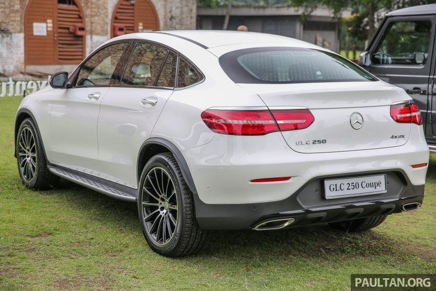 Mercedes-Benz GLC Coupe makes its Malaysian debut – single GLC 250 4Matic variant, RM428,888 Image #571074