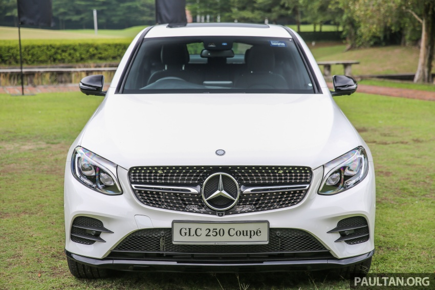 Mercedes-Benz GLC Coupe makes its Malaysian debut – single GLC 250 4Matic variant, RM428,888 Image #571076