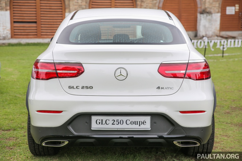 Mercedes-Benz GLC Coupe makes its Malaysian debut – single GLC 250 4Matic variant, RM428,888 Image #571077