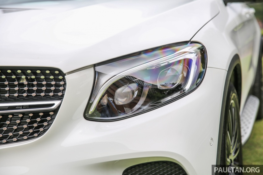 Mercedes-Benz GLC Coupe makes its Malaysian debut – single GLC 250 4Matic variant, RM428,888 Image #571082
