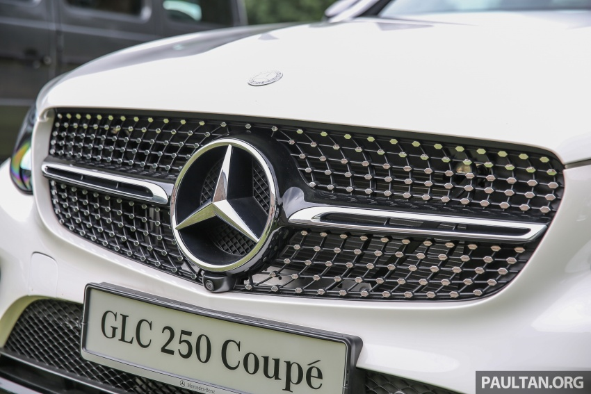 Mercedes-Benz GLC Coupe makes its Malaysian debut – single GLC 250 4Matic variant, RM428,888 Image #571085