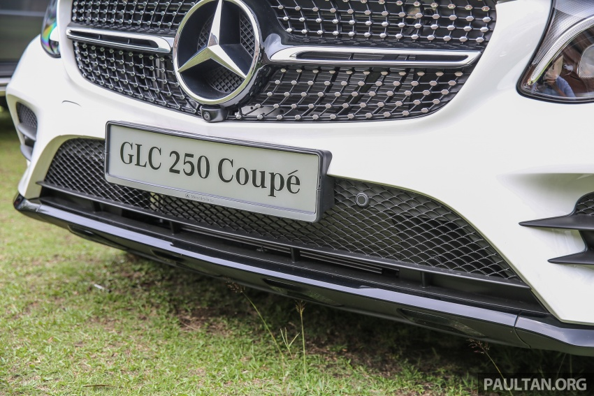 Mercedes-Benz GLC Coupe makes its Malaysian debut – single GLC 250 4Matic variant, RM428,888 Image #571021