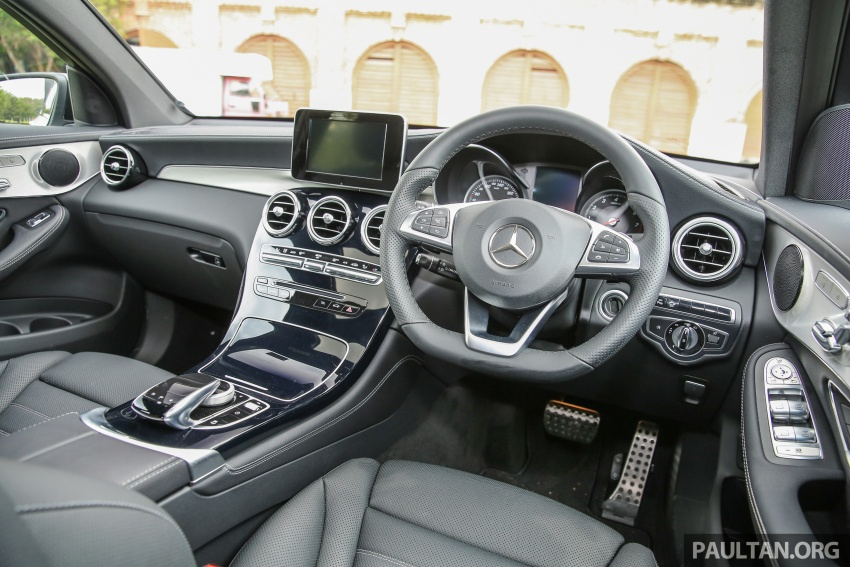Mercedes-Benz GLC Coupe makes its Malaysian debut – single GLC 250 4Matic variant, RM428,888 Image #571061