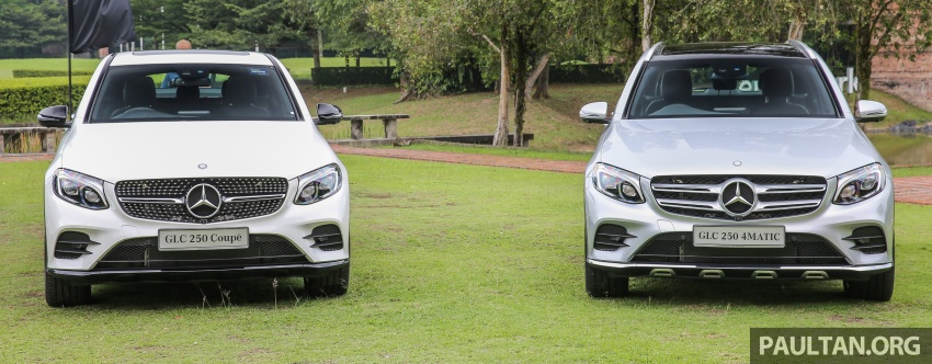 Mercedes-Benz GLC Coupe makes its Malaysian debut – single GLC 250 4Matic variant, RM428,888 Image #571092