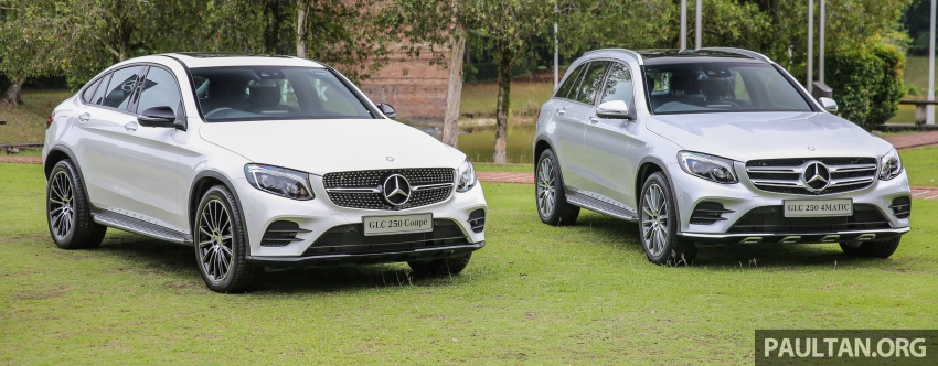 Mercedes-Benz GLC Coupe makes its Malaysian debut – single GLC 250 4Matic variant, RM428,888 Image #571095