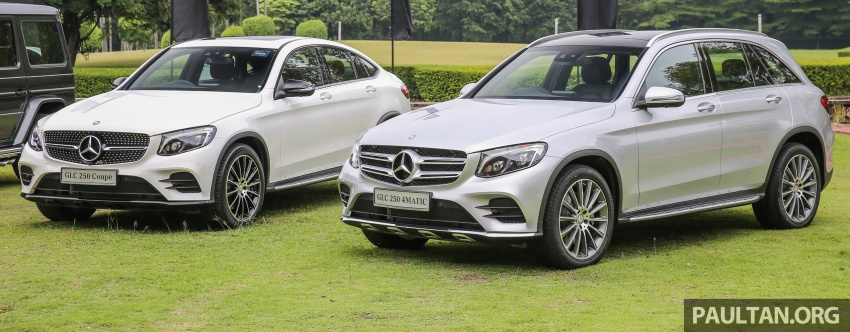 Mercedes-Benz GLC Coupe makes its Malaysian debut – single GLC 250 4Matic variant, RM428,888 Image #571097