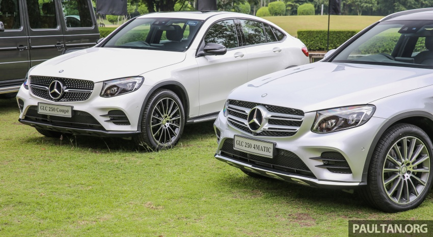 Mercedes-Benz GLC Coupe makes its Malaysian debut – single GLC 250 4Matic variant, RM428,888 Image #571099