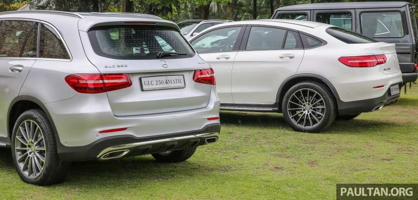 Mercedes-Benz GLC Coupe makes its Malaysian debut – single GLC 250 4Matic variant, RM428,888 Image #571102