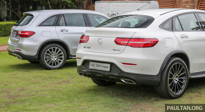 Mercedes-Benz GLC Coupe makes its Malaysian debut – single GLC 250 4Matic variant, RM428,888 Image #571105