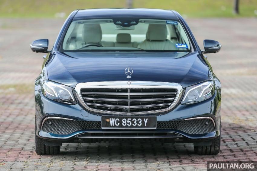 PANDU UJI: Mercedes-Benz W213 E 200 – penanda aras baharu segmen sedan mewah eksekutif Image #561562