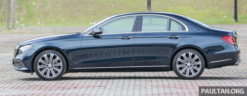 PANDU UJI: Mercedes-Benz W213 E 200 – penanda aras baharu segmen sedan mewah eksekutif Image #561479