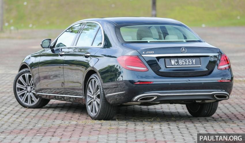 PANDU UJI: Mercedes-Benz W213 E 200 – penanda aras baharu segmen sedan mewah eksekutif Image #561481