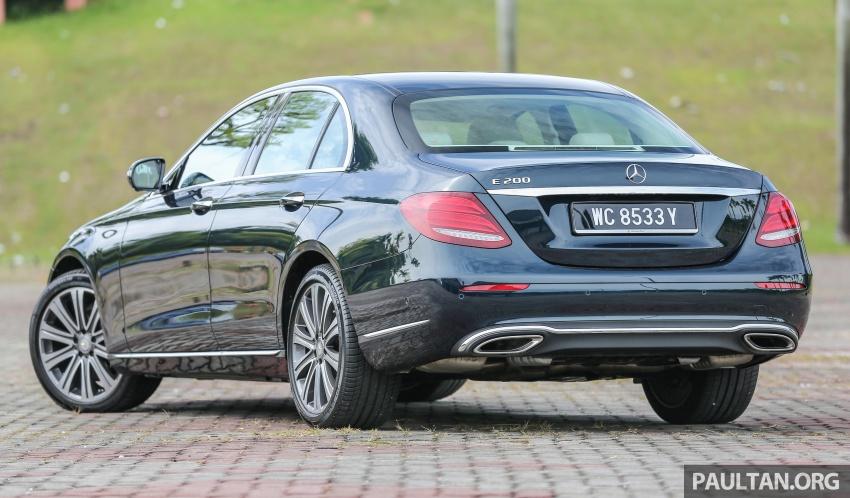 PANDU UJI: Mercedes-Benz W213 E 200 – penanda aras baharu segmen sedan mewah eksekutif Image #561482