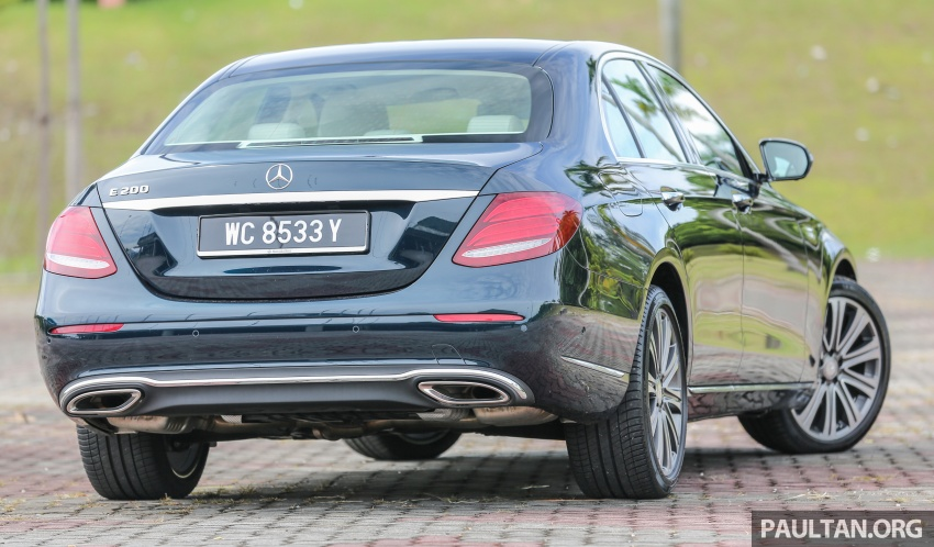 PANDU UJI: Mercedes-Benz W213 E 200 – penanda aras baharu segmen sedan mewah eksekutif Image #561484