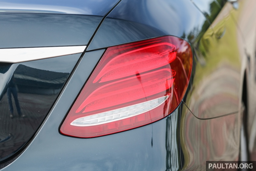 PANDU UJI: Mercedes-Benz W213 E 200 – penanda aras baharu segmen sedan mewah eksekutif Image #561538