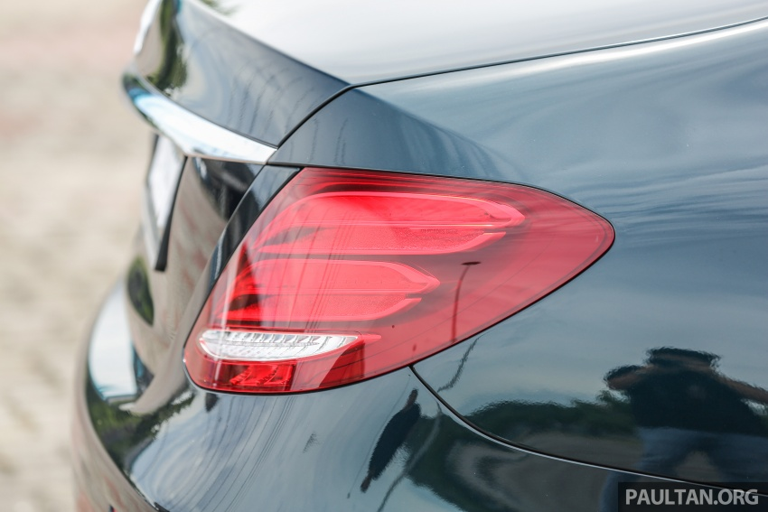 PANDU UJI: Mercedes-Benz W213 E 200 – penanda aras baharu segmen sedan mewah eksekutif Image #561536