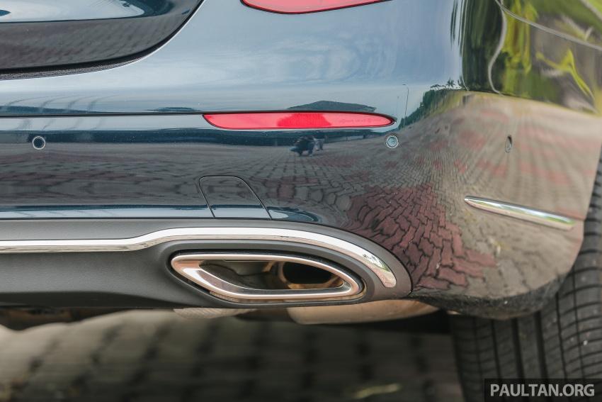 PANDU UJI: Mercedes-Benz W213 E 200 – penanda aras baharu segmen sedan mewah eksekutif Image #561535