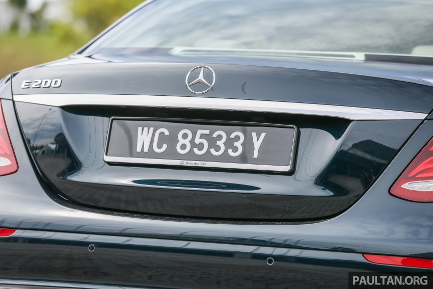 PANDU UJI: Mercedes-Benz W213 E 200 – penanda aras baharu segmen sedan mewah eksekutif Image #561533