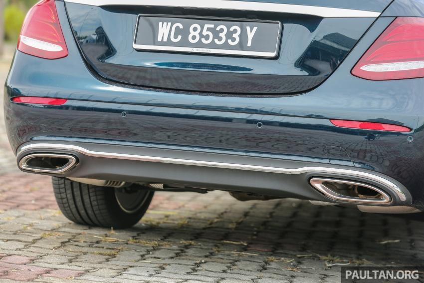 PANDU UJI: Mercedes-Benz W213 E 200 – penanda aras baharu segmen sedan mewah eksekutif Image #561534