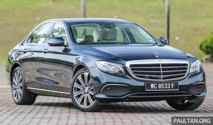 PANDU UJI: Mercedes-Benz W213 E 200 – penanda aras baharu segmen sedan mewah eksekutif Image #561476