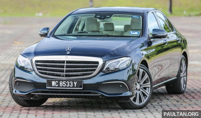 PANDU UJI: Mercedes-Benz W213 E 200 – penanda aras baharu segmen sedan mewah eksekutif Image #561477