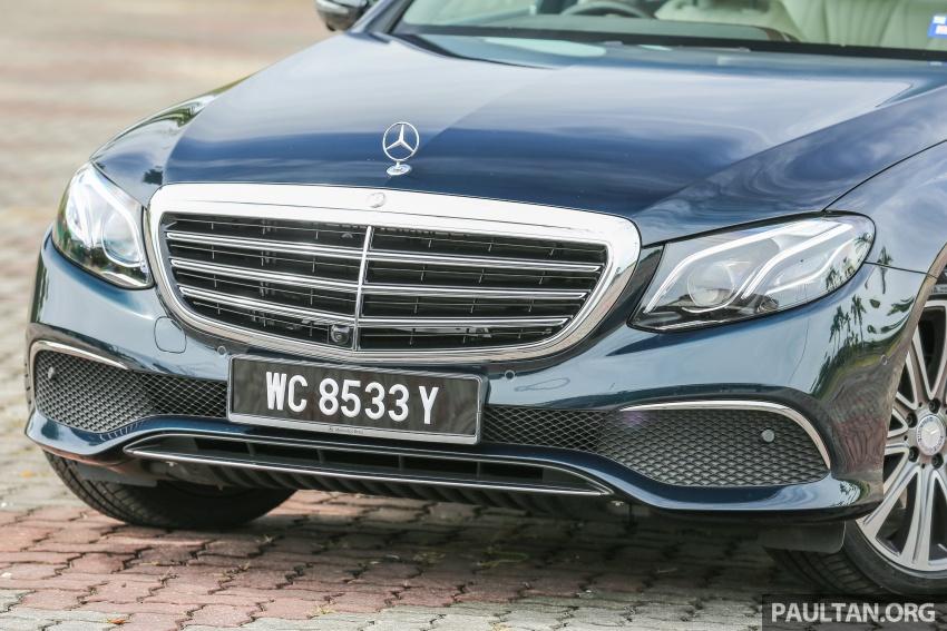 PANDU UJI: Mercedes-Benz W213 E 200 – penanda aras baharu segmen sedan mewah eksekutif Image #561529