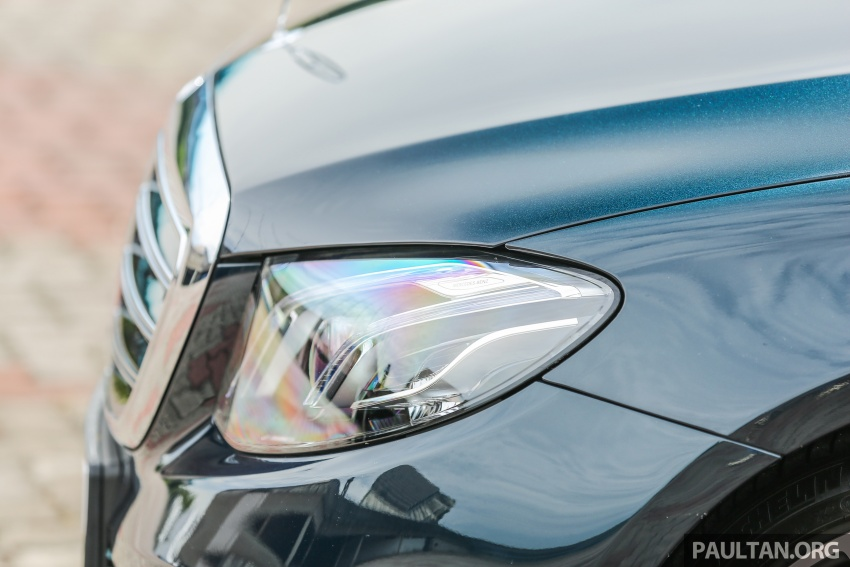 PANDU UJI: Mercedes-Benz W213 E 200 – penanda aras baharu segmen sedan mewah eksekutif Image #561528