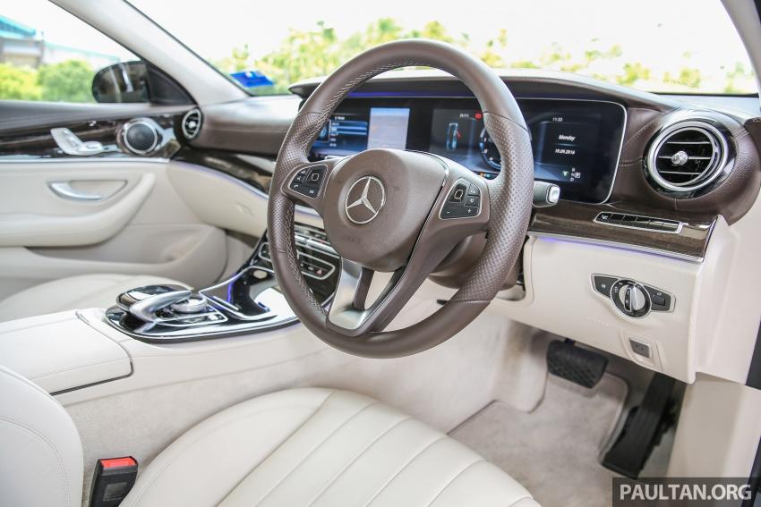PANDU UJI: Mercedes-Benz W213 E 200 – penanda aras baharu segmen sedan mewah eksekutif Image #561474
