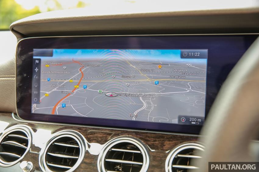 PANDU UJI: Mercedes-Benz W213 E 200 – penanda aras baharu segmen sedan mewah eksekutif Image #561527