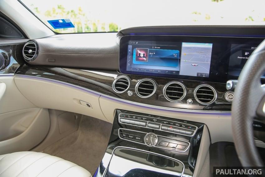 PANDU UJI: Mercedes-Benz W213 E 200 – penanda aras baharu segmen sedan mewah eksekutif Image #561525