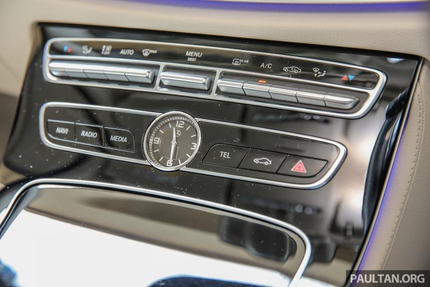 PANDU UJI: Mercedes-Benz W213 E 200 – penanda aras baharu segmen sedan mewah eksekutif Image #561524