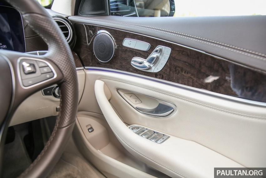 PANDU UJI: Mercedes-Benz W213 E 200 – penanda aras baharu segmen sedan mewah eksekutif Image #561519