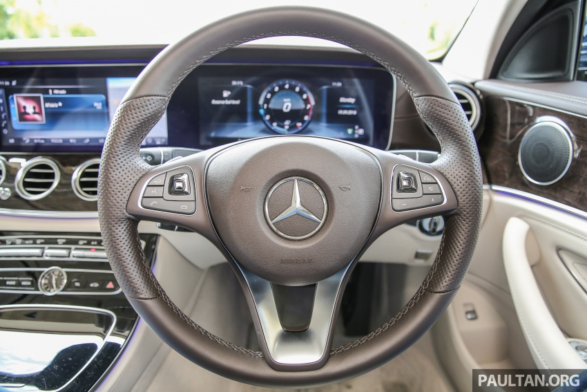 PANDU UJI: Mercedes-Benz W213 E 200 – penanda aras baharu segmen sedan mewah eksekutif Image #561514