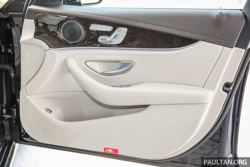PANDU UJI: Mercedes-Benz W213 E 200 – penanda aras baharu segmen sedan mewah eksekutif Image #561508