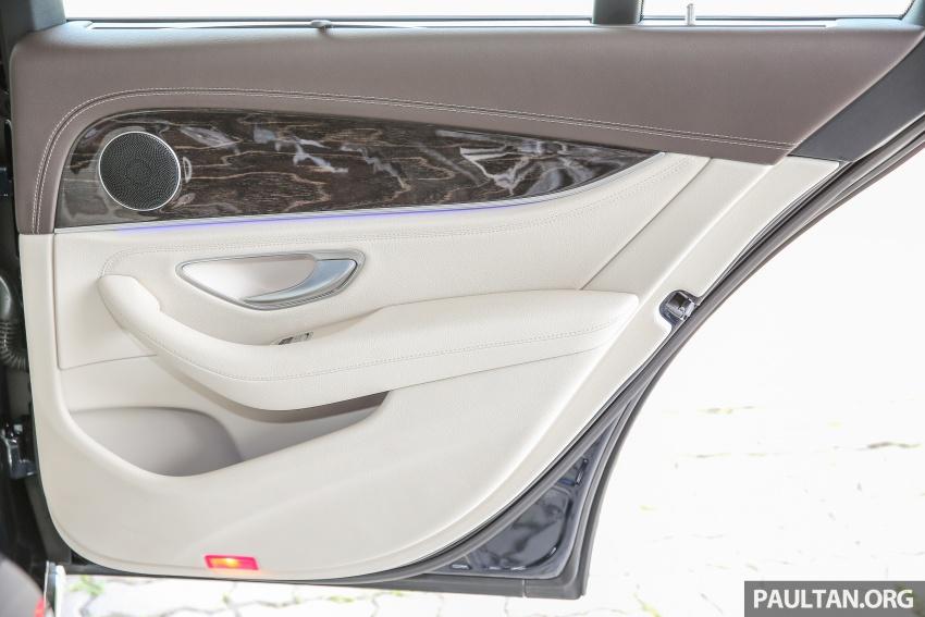 PANDU UJI: Mercedes-Benz W213 E 200 – penanda aras baharu segmen sedan mewah eksekutif Image #561505